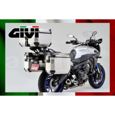 PAIRE VALISES 48Litres + 37 Litres LATERALES GIVI TREKKER OUTBACK MONOKEY CAM-SIDE MT09 TRACER