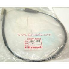 CABLE GAZ 60 KX 1991/03 54012-0094