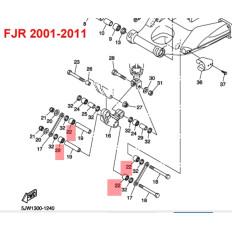 ROULEMENT BASCULEUR 1300 FJR 2001-2011