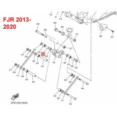 TUBE DE ROULEMENT BASCULEUR COTE CADRE 1300 FJR 2001-2020