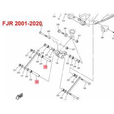TUBE DE ROULEMENT BASCULEUR BIELLETTE 1300 FJR 2001-2020