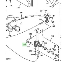DURITE ESSENCE ROBINET/ POMPE 850 TRX 1996-2000