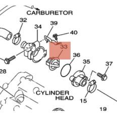 CALOSTAT TOUTES 850 TDM 1991-2001 TRX et 900 TDM