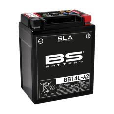 BATTERIE 750 XTZ BS BATTERY BB14L-A2 SLA sans entretien activée usine