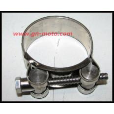COLLIER INOX ECHAPPEMENT/COLLECTEUR 850 TDM 44-47mm